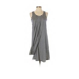 Jean Paul Gaultier Vintage Drape Stripe Swag Dress